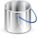 128x128px size png icon of Bucket