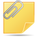 128x128px size png icon of Clip
