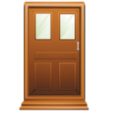 128x128px size png icon of Door