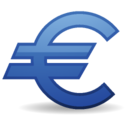 128x128px size png icon of Euro