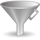 128x128px size png icon of Funnel