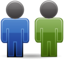 128x128px size png icon of People