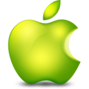 Glossy Apple Icon