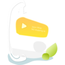 128x128px size png icon of MP3 Player
