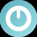 128x128px size png icon of Shutdown