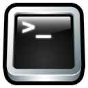 128x128px size png icon of Terminal