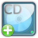 128x128px size png icon of cd rw drive