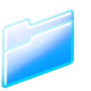 128x128px size png icon of closed folder