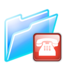 128x128px size png icon of connection folder