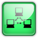 128x128px size png icon of my net