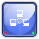 128x128px size png icon of net drive online