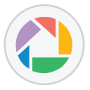 128x128px size png icon of Google Picasa