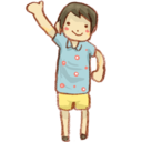 128x128px size png icon of Hp boy