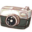 128x128px size png icon of Hp camera photo