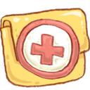128x128px size png icon of Hp folder backup