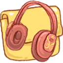 Hp folder music 2 Icon