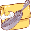 128x128px size png icon of Hp folder recipe