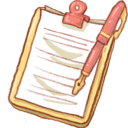 128x128px size png icon of Hp notepad2 pen