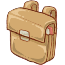 128x128px size png icon of Hp schoolbag