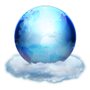128x128px size png icon of Heaven Networking