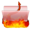 128x128px size png icon of Hell Documents