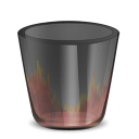 128x128px size png icon of HellLess TrashEmpty