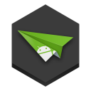 128x128px size png icon of airdroid