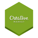128x128px size png icon of creative market