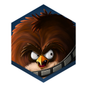 128x128px size png icon of game angry birds star wars