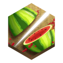 128x128px size png icon of game fruit ninja