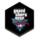 128x128px size png icon of game vice city