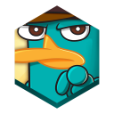 128x128px size png icon of game wheres my perry