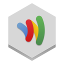 128x128px size png icon of google wallet