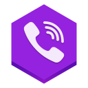 128x128px size png icon of viber