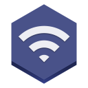 128x128px size png icon of wifi 2