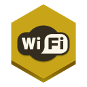 128x128px size png icon of wifi