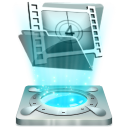 128x128px size png icon of My video
