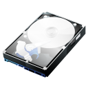 HDD Clear Case Icon