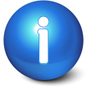 128x128px size png icon of Cute Ball Info
