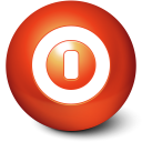 128x128px size png icon of Cute Ball Shutdown