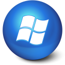 128x128px size png icon of Cute Ball Windows