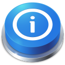 128x128px size png icon of Perspective Button Info