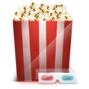 128x128px size png icon of Cinema