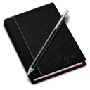 128x128px size png icon of Pages black