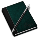 128x128px size png icon of Pages green
