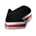 Arrow Red Icon