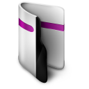 128x128px size png icon of Folder Purple