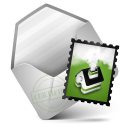 128x128px size png icon of Mail Green