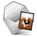 Mail Orange Icon