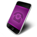 Phone Purple Icon
